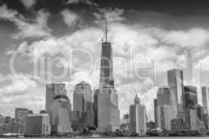Magnificence of Downtown Manhattan skyline - New York City