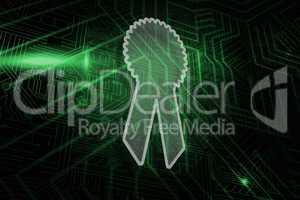 Composite image of merit badge