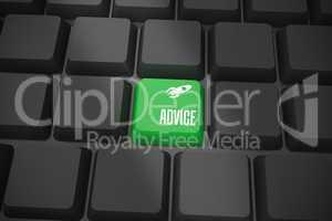 Advice on black keyboard with green key