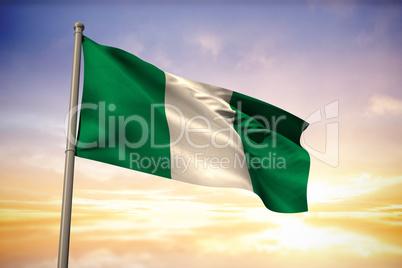 Nigeria national flag