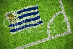 Uruguay national flag