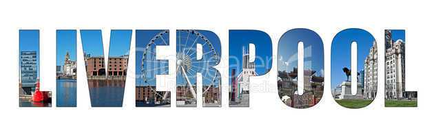 Image of Liverpool inserted into text