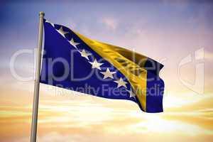 Bosnia national flag