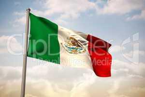 Mexico national flag