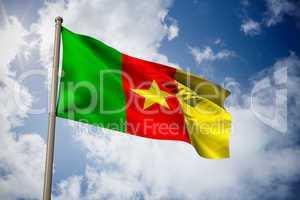 Cameroon national flag