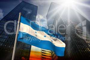 Honduras national flag