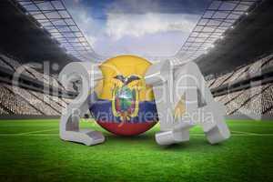 Ecuador world cup 2014
