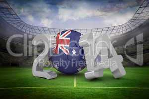 Australia world cup 2014