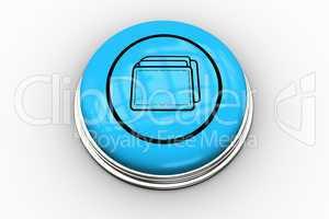 Folder graphic on blue button