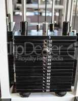 Heavy weights on the weight machine