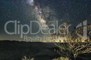 Milky Way Night Sky Death Valley