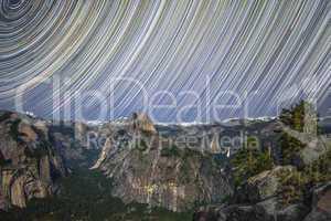 Yosemite Valley Startrails