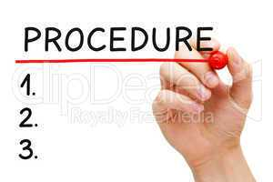 Procedure List
