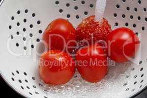 Washing Tomatoes