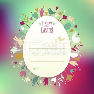 Beautiful Instagram Easter Card