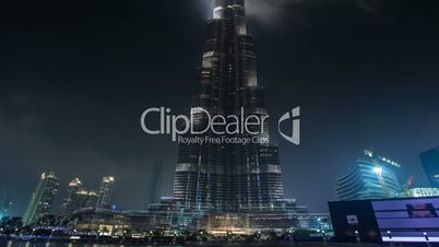 famous place Burj Khalifa