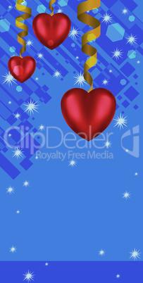 hearts and serpantine card.eps