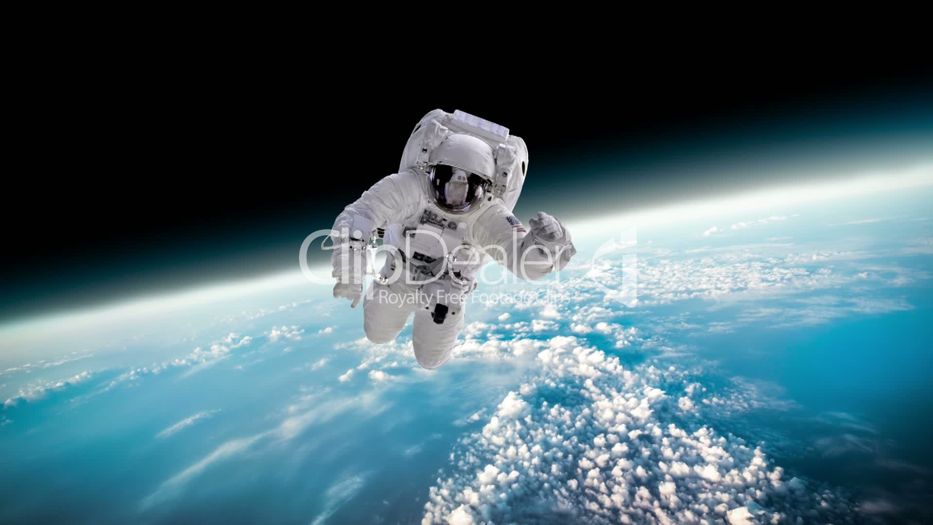 astronaut in outer space observe sky as - photo #29