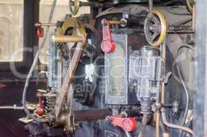 Führerstand Dampflokomotive