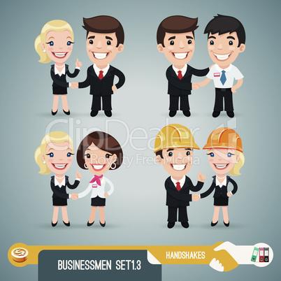 Businessmen Cartoon Characters Set1.3