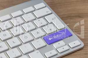 Account on modern Keyboard