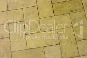 Yellow stone floor background