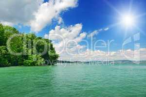 seaside and sun
