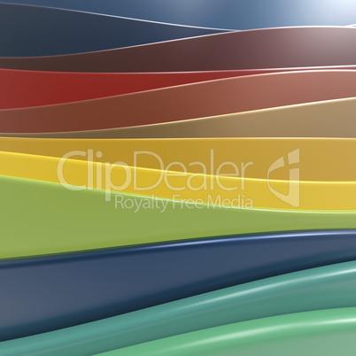 Shiny plastic layers