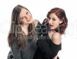 2 Freundinnen flirten