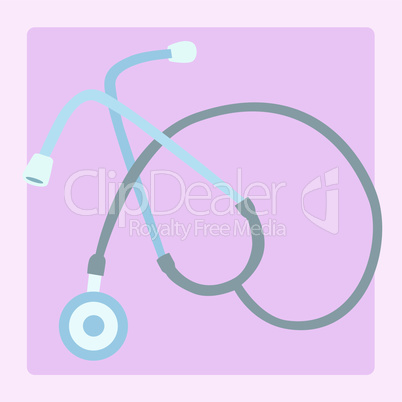Medical equipment stethoscope
