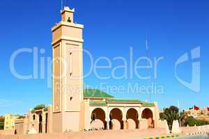 in maroc africa minaret and