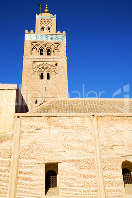 maroc minaret  the blue