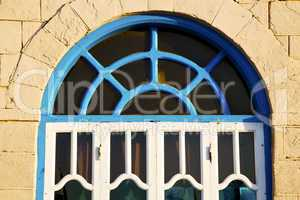 window in morocco africa and old brick historical