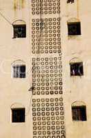 window in morocco africa and old construction   historical