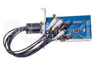 Electronic collection - Computer video capture card