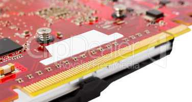 Electronic collection - PCI-e data connector videocard