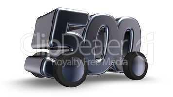 fünfhundert auf rädern
