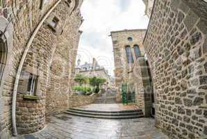 Medieval architecture of Saint Malo, France