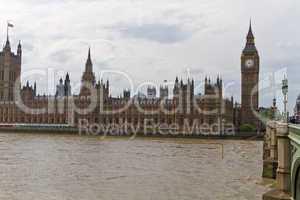 Westminster Palace, Big Ben, London