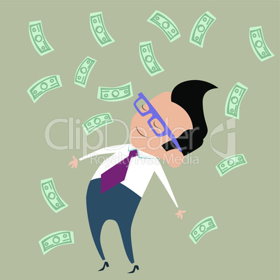 Profit Finance businessman money happy