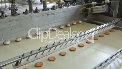 Production of chocolate marshmallow