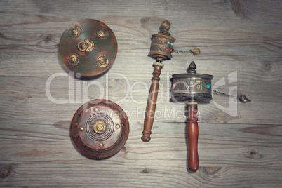 Tibetan mani wheel