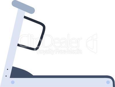 Stationary treadmill