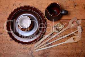 Küche Krug aus Ton