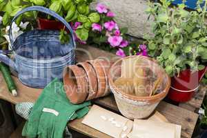 Gärtnern, Tools for gardening