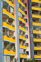 Balkonreihen