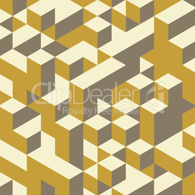 Abstract geometrical 3d colorful background. Can be used for wallpaper, web page background.