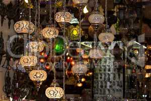 Turkish lanterns.