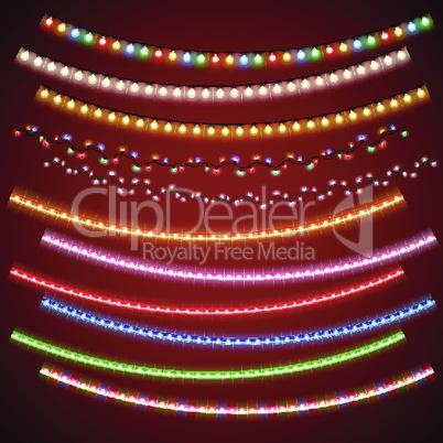 Christmas Electric Garlands Set