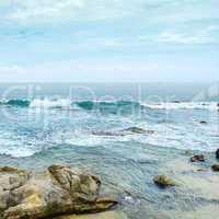 coastline of the Indian Ocean
